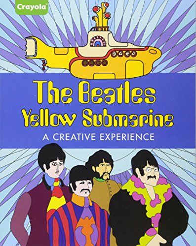 crayola the beatles yellow submarine a creative experience by parragon books ltd parragon inc. Black Bedroom Furniture Sets. Home Design Ideas