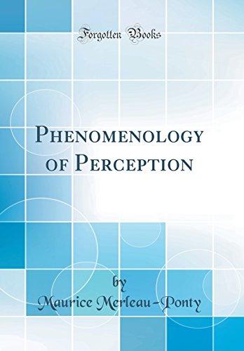 9781528434010: Phenomenology of Perception (Classic Reprint)