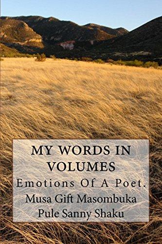 9781530033645: My Words In Volumes: Emotions Of A Poet