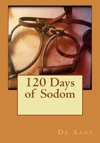 9781530058037: 120 days of sodom
