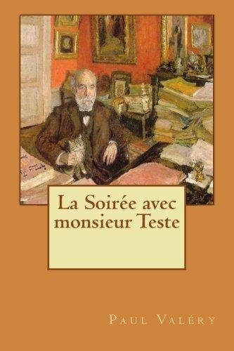 9781530064069: La Soirée avec monsieur Teste (French Edition)