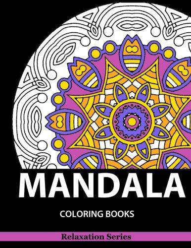 Mandala Coloring Book: Relaxation Series Vol. 5: Book, TNK Coloring