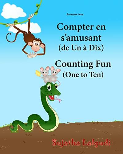 Animaux livre: Compter en s?amusant. Counting Fun: Sujatha Lalgudi
