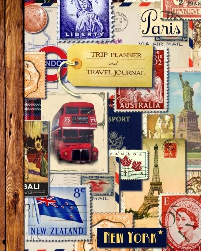 Trip Planner and Travel Journal: Vacation Planner: smART bookx