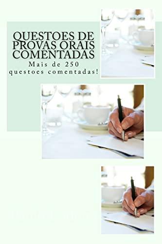 Questoes de Provas Orais Comentadas: Mais de: Paulo R. S.