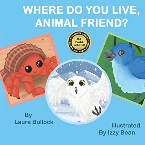 9781530312863: Where Do You Live, Animal Friend?