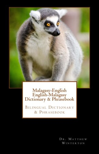 9781530323197: Malagasy-English English-Malagasy Dictionary & Phrasebook