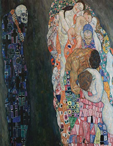 9781530352142: Death and Life, Gustav Klimt. Blank journal: 150 blank pages, 8,5x11 inch (21.59 x 27.94 cm) Soft cover
