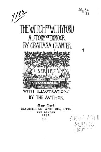 9781530445707: The Witch of Withyford, A Story of Exmoor