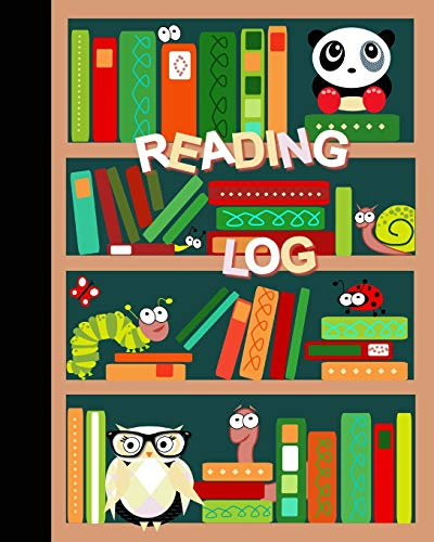 "9781530465460: Reading Log: Gifts for Young Book Lovers / Reading Journal [ Softback * Large (8"" x 10"") * Child-friendly Layout * 100 Spacious Record Pages & More... ] (Kids Reading Logs & Journals)"