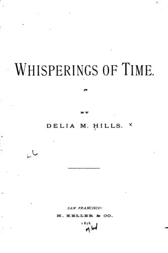 9781530550043: Whisperings of Time