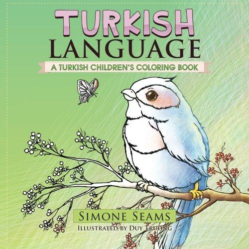 9781530621125: Turkish Language: A Turkish Children's Coloring Book