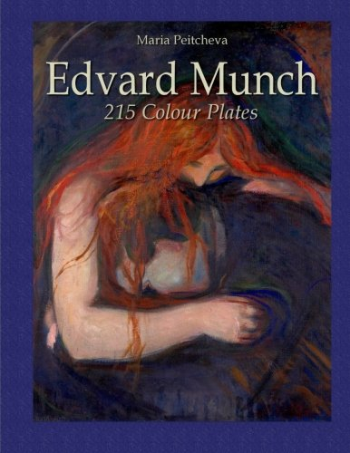 9781530676354: Edvard Munch: 215 Colour Plates