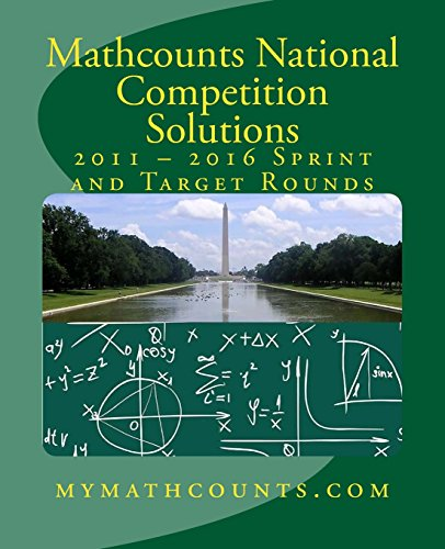 Mathcounts National Competition Solutions: Yongcheng Chen