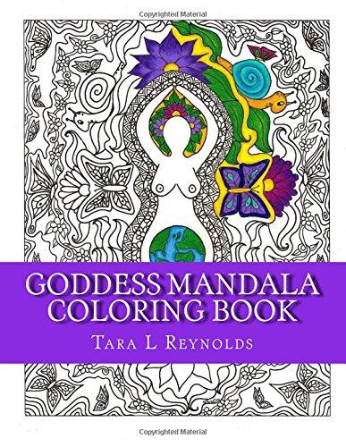 9781530785919: Goddess Mandala Coloring Book