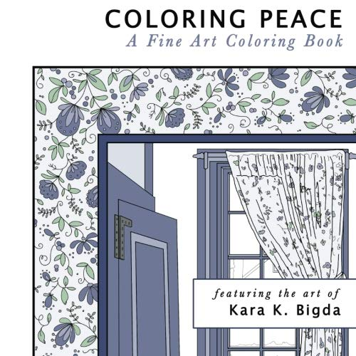 9781530804771: Coloring Peace: A Fine Art Coloring Book
