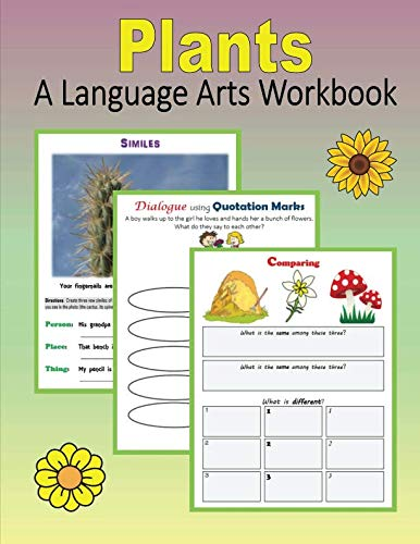 9781530817627: Plants: A Language Arts Workbook