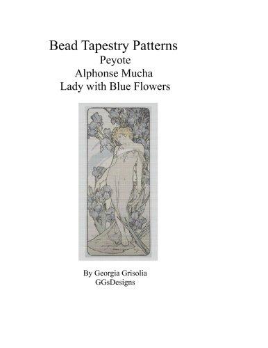 Bead Tapestry Patterns Peyote Alphonse Mucha Lady: Grisolia, Georgia