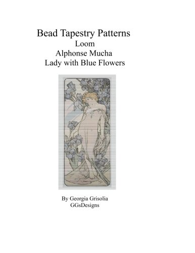 Bead Tapestry Patterns Loom Alphonse Mucha Lady: Grisolia, Georgia