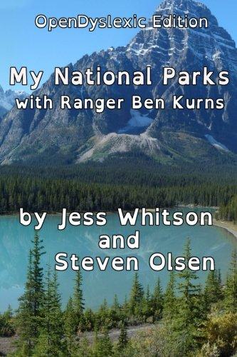 9781530829484: My National Parks [OpenDyslexic]