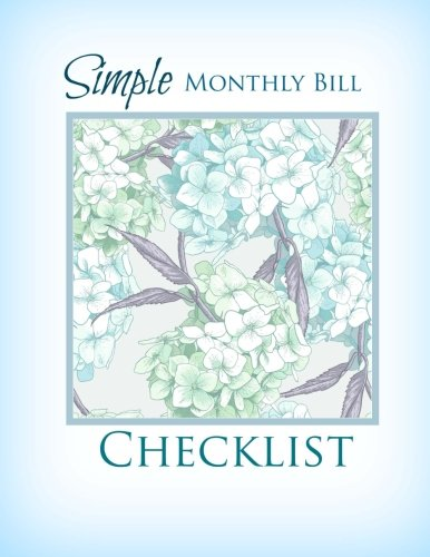 Simple Monthly Bill Checklist (Extra Large Budget: Cascade Wonders Simple