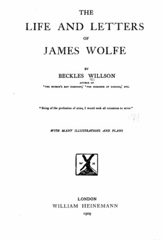 9781530867943: The life and letters of James Wolfe