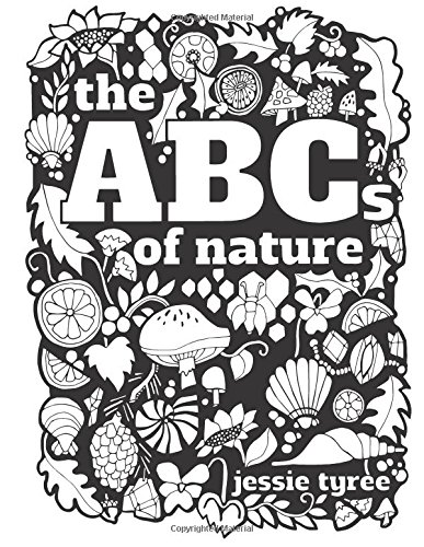 9781530912704: The ABCs of Nature Coloring Book