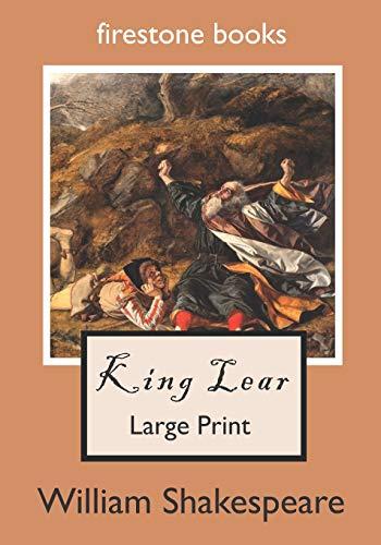 9781530957408: King Lear: Large Print