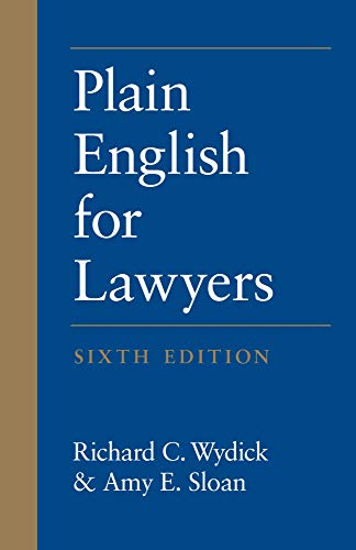 9781531006990: Plain English for Lawyers