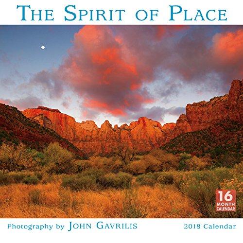 Spirit of Place 2018 Wall Calendar: The Photography by John Gavrilis