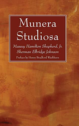 Munera Studiosa (Paperback)