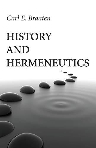 9781532614002: History and Hermeneutics