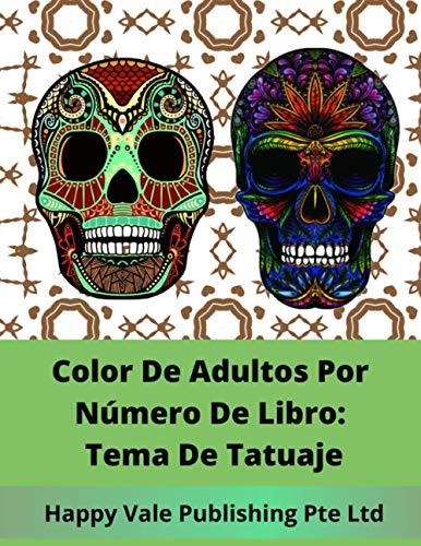 9781532731938: Color De Adultos Por Número De Libro: Tema De Tatuaje (Spanish Edition)