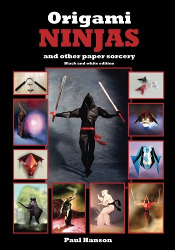 9781532739040: Origami Ninjas (Black & White edition): and other paper sorcery