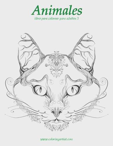 9781532739729: Animales libro para colorear para adultos 3: Volume 3