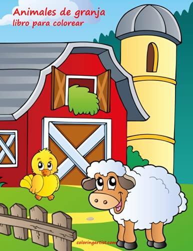 9781532740503: Animales de granja libro para colorear 1 (Volume 1) (Spanish Edition)