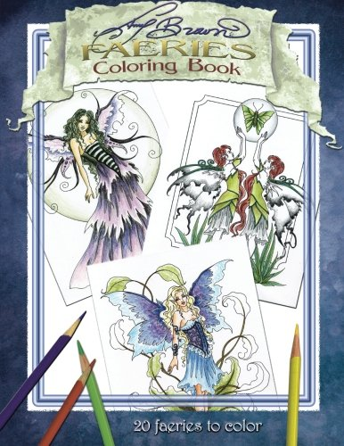 9781532749131: Amy Brown Faeries Coloring Book 2