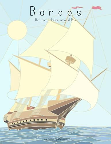 9781532750601: Barcos libro para colorear para adultos 1: Volume 1