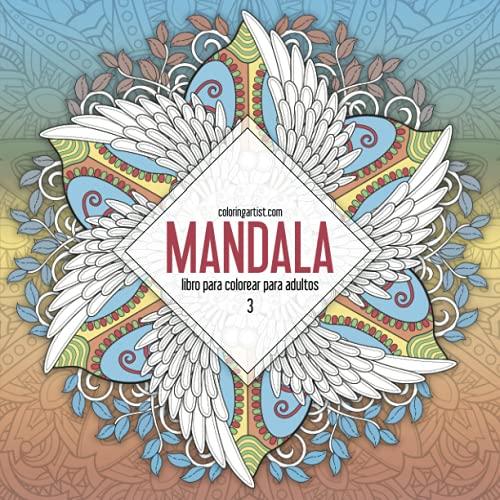 9781532750816: Mandala libro para colorear para adultos 3: Volume 3