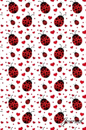 9781532772573: Journal: Ladybugs hearts notebook
