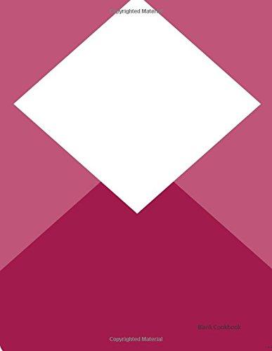 9781532783845: Blank Cookbook: Diamond Shape (Recipe Journals, Recipes, Blank Cookbook) (Volume 27)