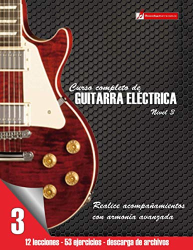 9781532821271: Curso completo de guitarra eléctrica nivel 3 (Volume 3) (Spanish Edition)