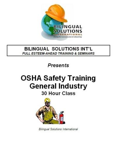 OSHA Safety Training General Industry: Hector Escarcega