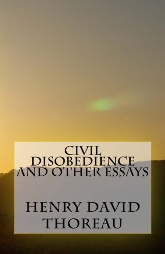 civil disobedience and other essays abebooks 9781532862465 civil disobedience and other essays