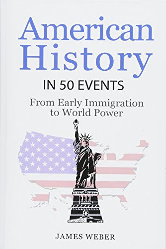 9781532953576: History: American History in 50 Events: From First Immigration to World Power (US History, History Books, USA History) (History in 50 Events Series) (Volume 2)
