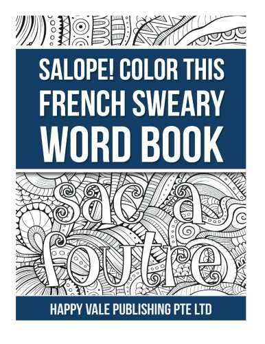9781532970481: Salope! Color This French Sweary Word Book