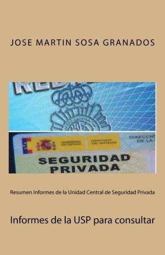 Resumen Informes de la Unidad Central de: Jose Martin Sosa