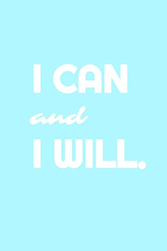 9781533035462: I Can & I Will - Workout Log & Training Journal (Fitness Exercise Diary)