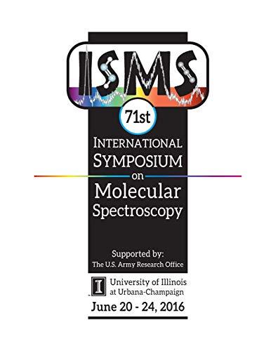 9781533053909: 71st International Symposium on Molecular Spectroscopy
