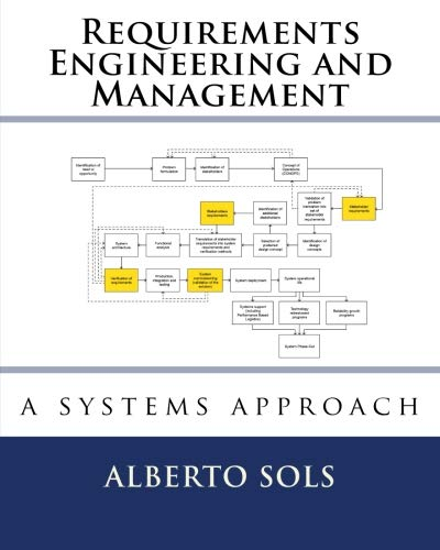 9781533080028: Requirements Engineering and Management: A Systems Approach